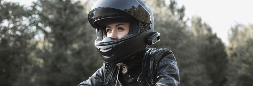 Casques de qualité pour motos